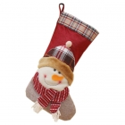 FC-01 Christmas Decoration Big Sock - Snowman