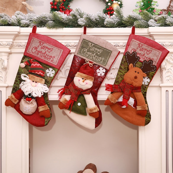 FC-04 Christmas Decoration Pop-up Big Sock