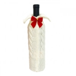 FC-05 Holiday Knitted Bottle Sock - Ivory