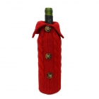 FC-05 Holiday Knitted Bottle Sock - Red