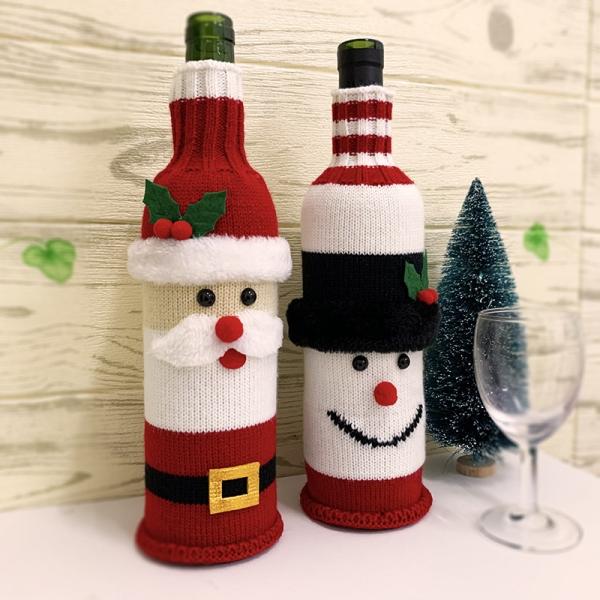 FC-06 Holiday Santa Bottle Sock