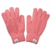 FG023 Solid Color Cable Knitted Pattern Touchscreen Gloves - Dz Pack