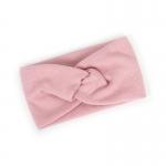 FH047 Solid Cross Knot Headband - Pink
