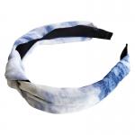 FH025 Tie-Dye Pattern Headband, Blue