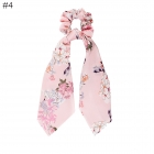 FH030 Spring Pattern Scrunchies & Scarf - #4