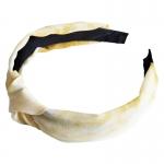 FH025 Tie-Dye Pattern Headband, Yellow