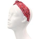 FHE0194 Paisley Print Knotted Headband