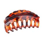 FHW003 Round Bold Grand Solid Color Claw, #4 (3PCS IN SET)