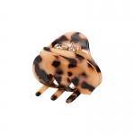 FHW095 Marbel Oval Shape Mini Claw, L.TOR