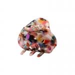 FHW095 Marbel Oval Shape Mini Claw, Multi