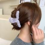 FHW100 Furry Medium Hair Claw, Grey
