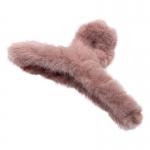 FHW100 Furry Medium Hair Claw, Pink