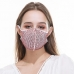 MFM-003 Rhinestone Studded Resuabel Mask - Dz