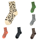 FO003 Leopard Pattern Socks (Dozen Pack)