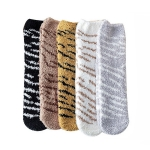 FO019 Animal Pattern Soft Plush Socks (DZ)