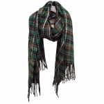 FS006 Plaid Pattern Scarf