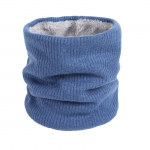 FS018 Solid Color Fleece Neck Gaiter - Blue