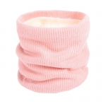 FS018 Solid Color Fleece Neck Gaiter - Pink