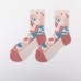 FO017 Colorful Camouflage Pattern Sock in a Box - 5Pcs Pack