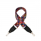 FST001 Abstract Pattern Bag Strap, Black