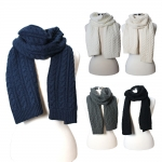 FSY7315 CABLE KNIT SCARF