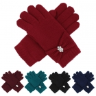 G5221 Double Layered Gloves W/ Rhinestone (DZ)