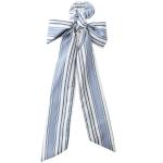 HSE0068 Stripe Bow-tie Scrunchies