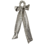 HSE0078 Metallic Bow-tie Scrunchies