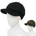 HT23201 Chenille Metallic Eyelet with Brim (Double Layer)