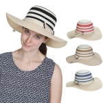 HY1030 ROPE BELTED FLOPPY HAT
