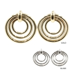 IER3634 Triple Circle Earring (DZ)