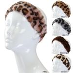IHW765 Faux Fur Leopard Headband (DZ)