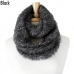 IS1010 Furry Infinity Scarf