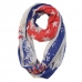 IS1131 Americana and Eagle Print Infinity Scarf