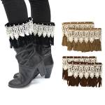 IW0092 Suede leg Boots Cuff