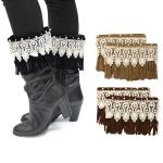 IW0092 Suede leg Boots Cuff
