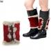 IW0108 Knit Fur Boots Cuff