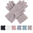 JG601P Double Layered Gloved with Flower (Dozen Pack)