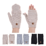 JG602P Double Layered Fingerless Gloves