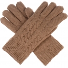 JG622 Double Layered Gloves, Camel