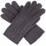 JG622 Double Layered Gloves, Charcoal (Dark Grey)