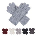 JG622 Basic Cable Knitted Double Layered Glove (DZ)