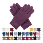 JG709 Basic Solid Color Double Layer Glove (by Color/DZ)