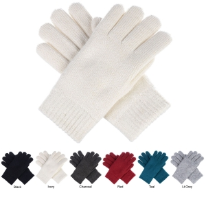 JG709 Solid Color Double Layer Glove (DZ)