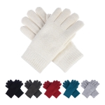 JG709 Basic Solid Color Double Layer Glove (DZ)