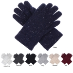 JG721 Solid Color with White Dot Double Layer Gloves (DZ)