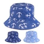 JH615 Anchor bucket hat