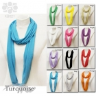KB021 Solid Infinity Scarf