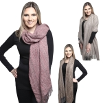 KK303 SOFT TEXTURED LONG SCARF