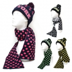KKH205 New York New York Hat & Scarf Set